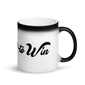 Wired to win mug